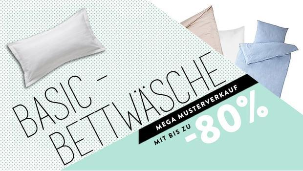 Basic-Bettwäsche