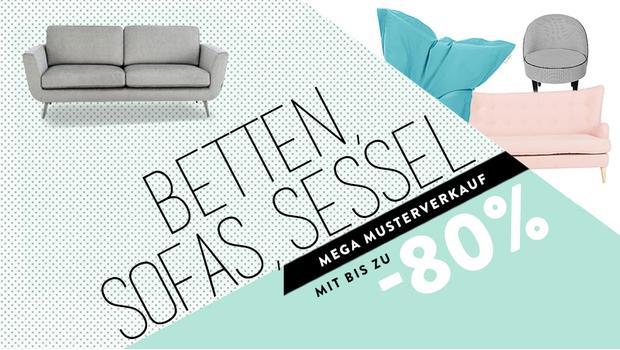 Betten, Sofas & Sessel