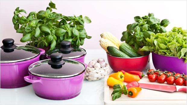 Colour up your Kitchen
