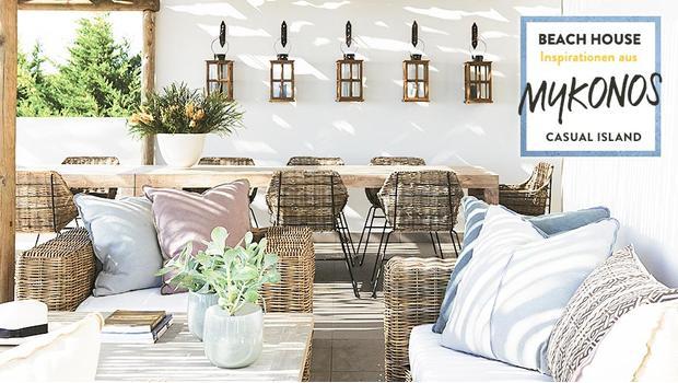 Ein Hotspot in Mykonos