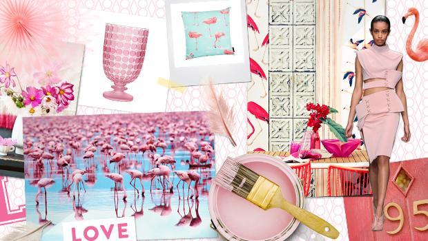 Fabelhafter Flamingo