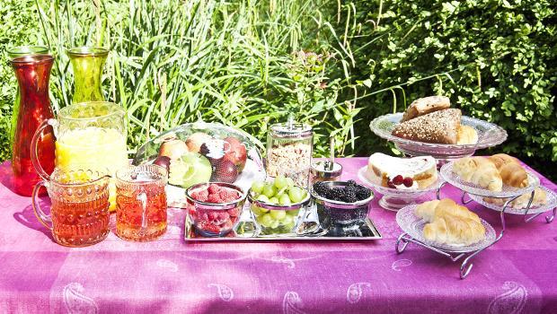 Frühstück im Freien/ Outdoorbreakfast Part 2
