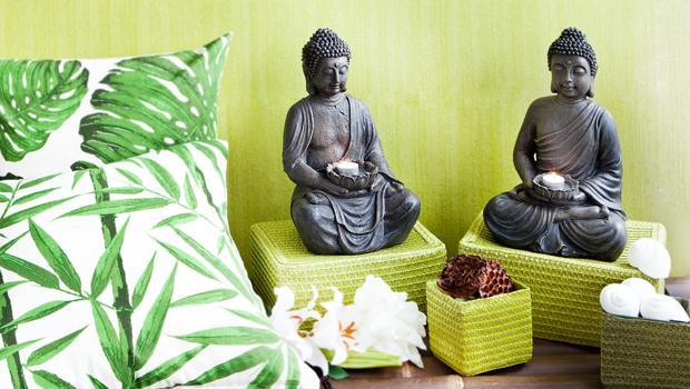 Badezimmer Accessoires Buddha