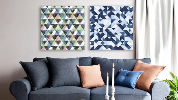 Groß-ART-ig geometrisch