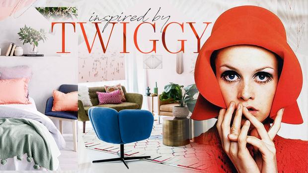 Retro-Glam im Twiggy-Look