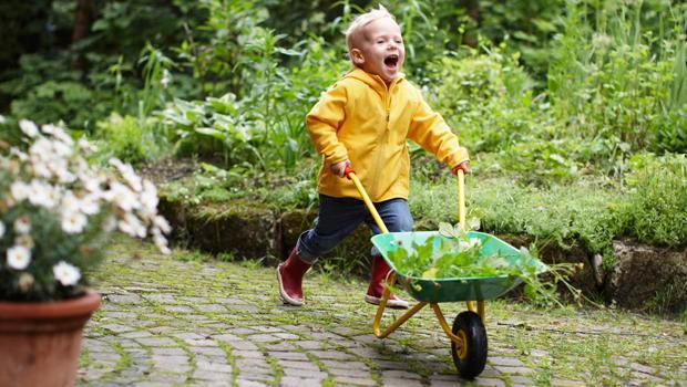 Gartenspaß für Kids