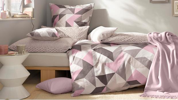 Textilien mit Scandi-Mustern