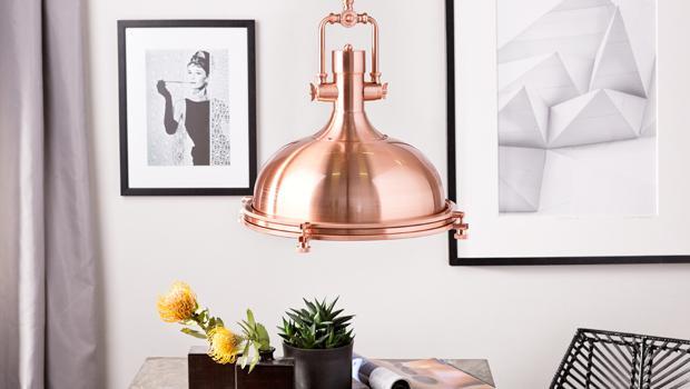 Leuchten in Kupfer & Co.
