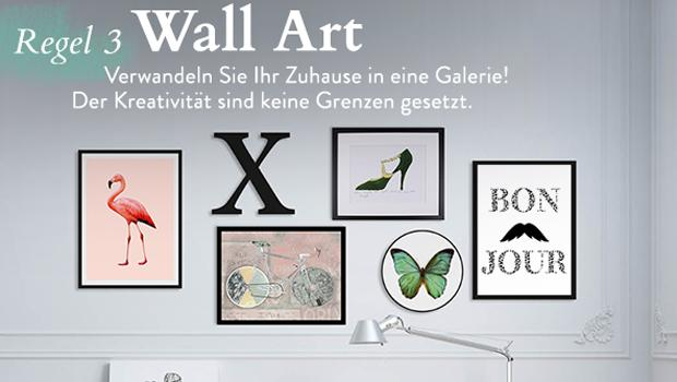 Mix & Match an der Wand