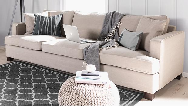 Sessel, Sofas & Footstools