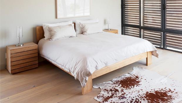 Schlafzimmer im Nordic-Look