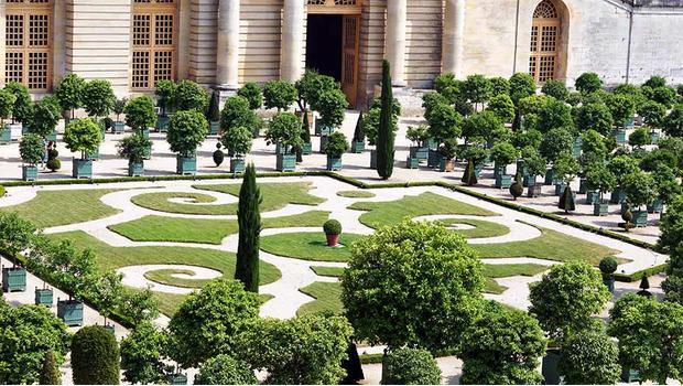 Romantischer Schlossgarten