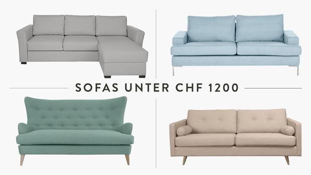 Sofas unter CHF 1200