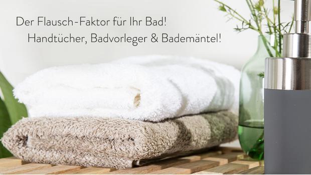 Textilien fürs Spa