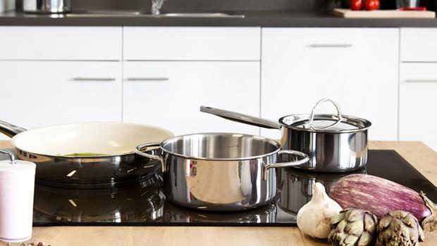 Treffpunkt: moderne Küche
