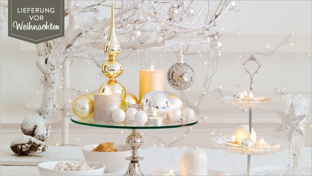 X mas pastell gl nzender baumschmuck co westwing - Weihnachtskugeln pastell ...
