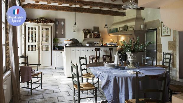 Klassisch-rustikale Küche