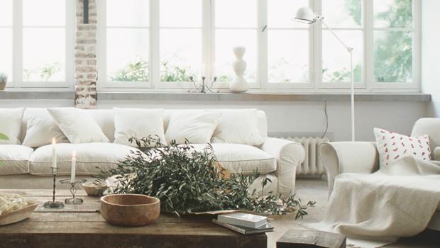 Wohnträume in Weiss