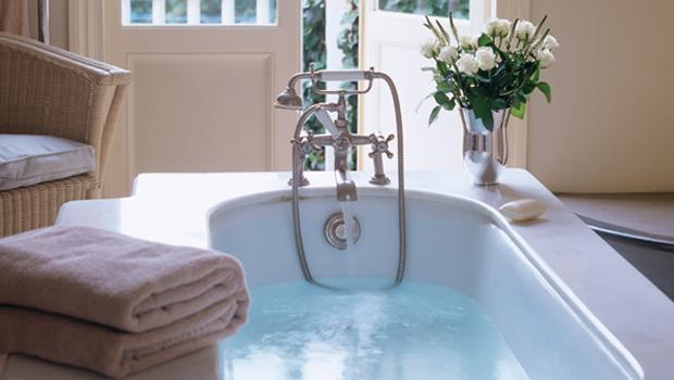 Romantisches Badezimmer
