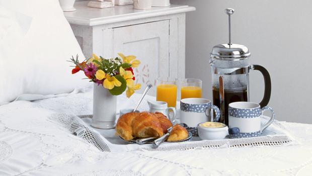 Romantisches Frühstück
