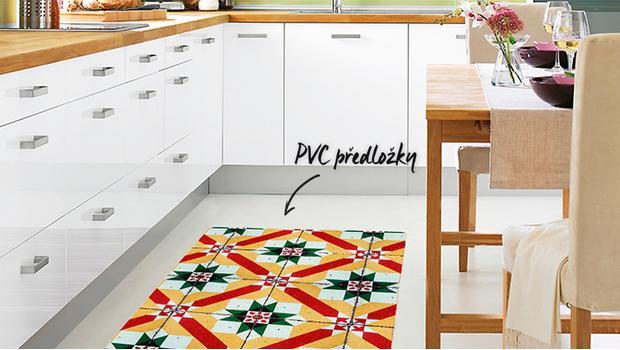 Praktické PVC předložky