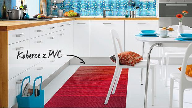 Skvělý nápad: koberce z PVC