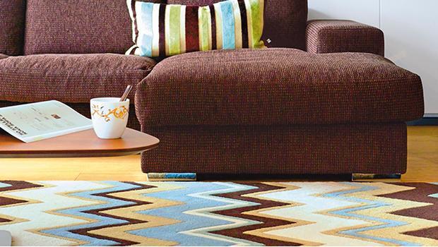 Vzorovaná podlaha