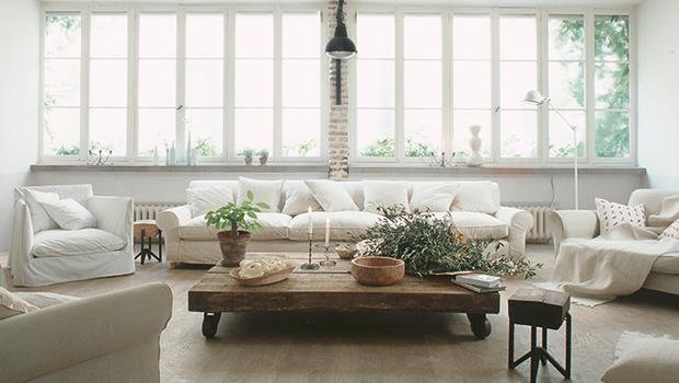 Rázovitý interiér