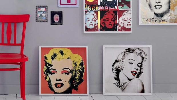 S tváří Marilyn Monroe