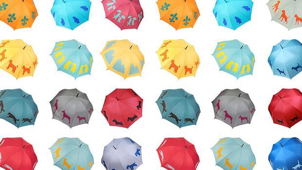 Přehlídka deštníků