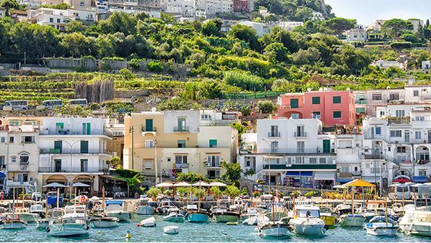 Vila na Capri