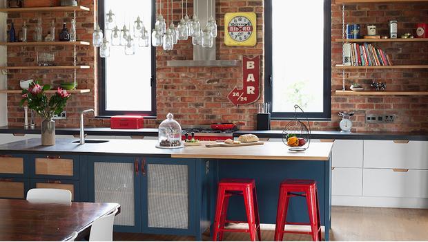 Kuchyně v loftovém stylu