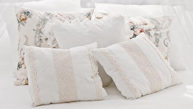 Zdobíme pohovku i postel
