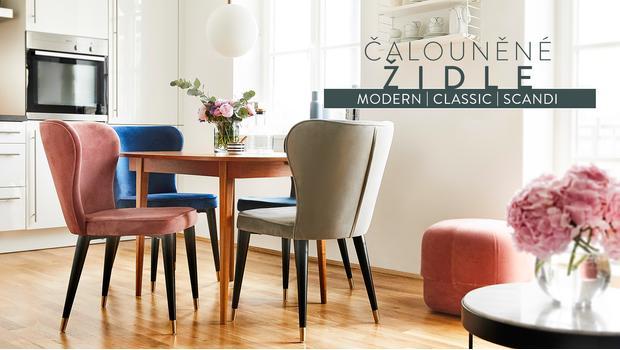 Kolekce: čalouněné židle