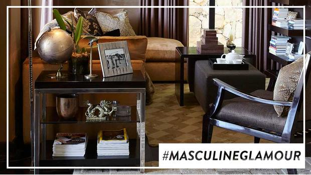 Masculine glamour