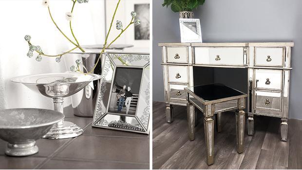 Zrcadlový nábytek a doplňky