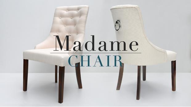 Kolekce židlí Madame