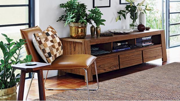 Modern retro men's apartment