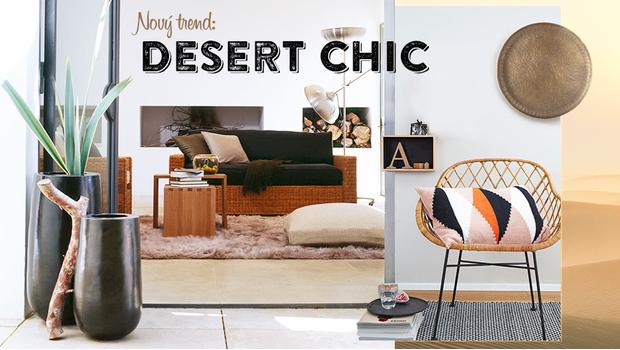 Zlatý pouštní písek
