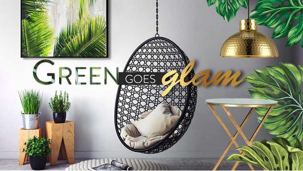 Glamour v zelené
