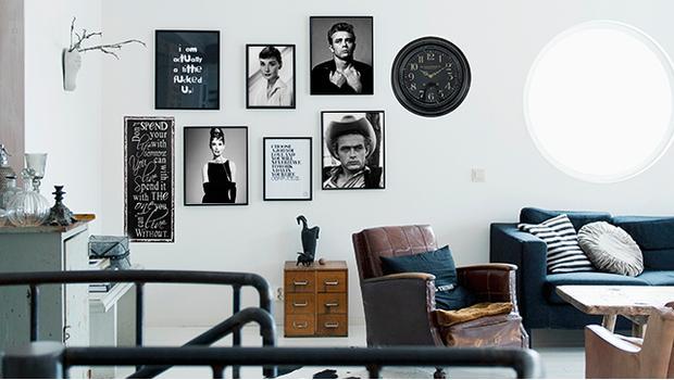 Loft v black & white