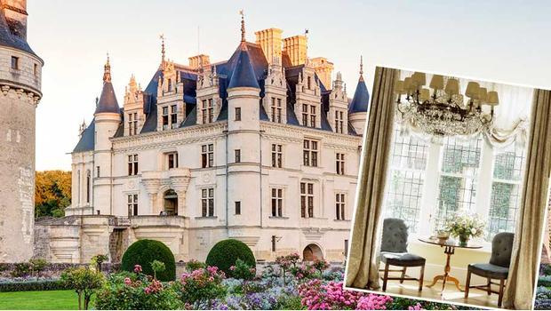V zámku nad Loirou