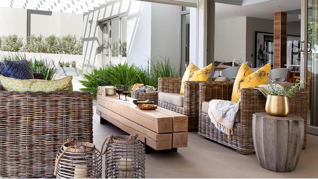 Zahrada plná luxusu