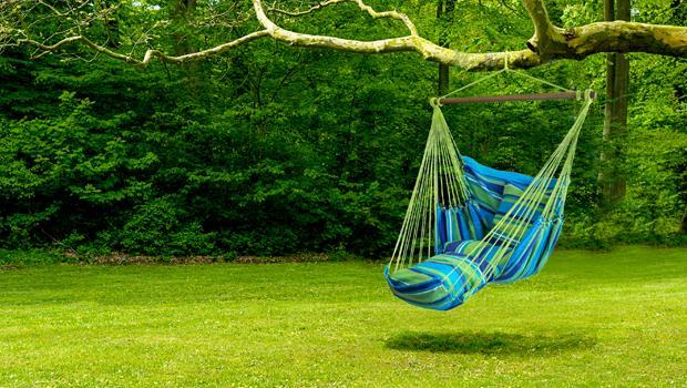 Relax v houpací síti