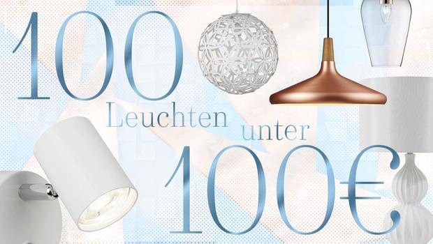 100 Leuchten unter 100 €