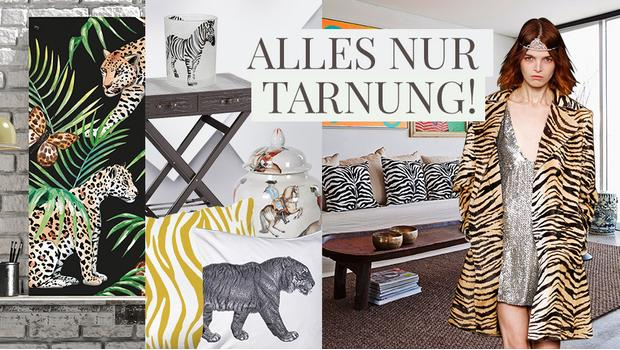 Wohn-Trend: Animal-Print!