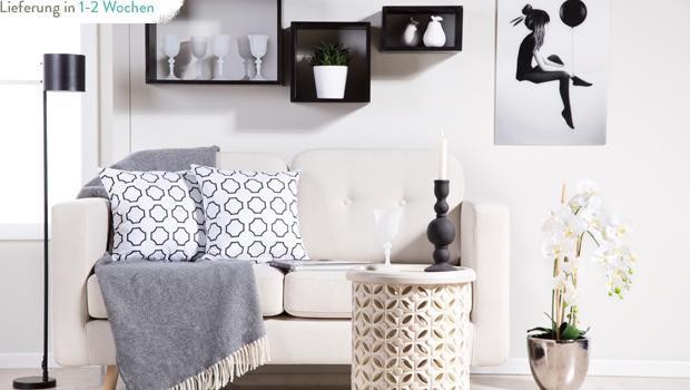 Interieur in Schwarz & Weiß