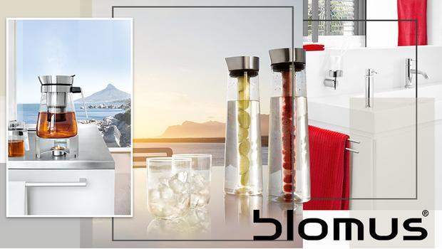 blomus design f r k che bad garten westwing. Black Bedroom Furniture Sets. Home Design Ideas