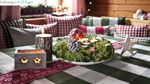 Winterliche Hüttenromantik