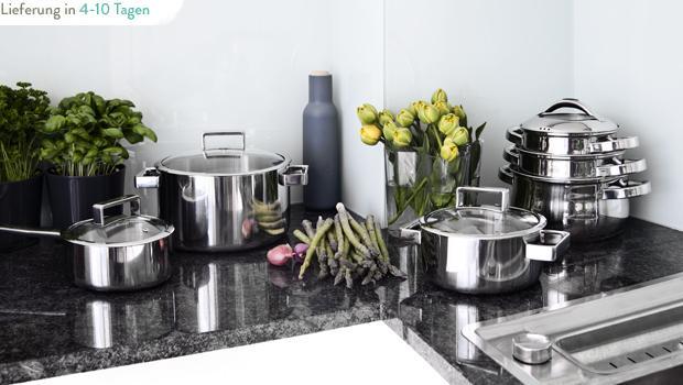 In die Küche, fertig, los!